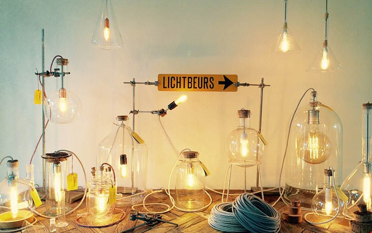 Van laboratorium glas