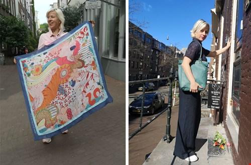 Locals amsterdam sjaal doek lokaal Flavourites