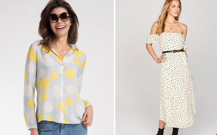 ga jij voor de blouse of de jurk?