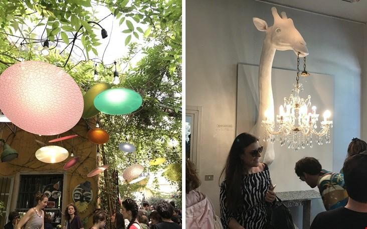 De showroom van Rosanna Orlandi - The travel agency of things