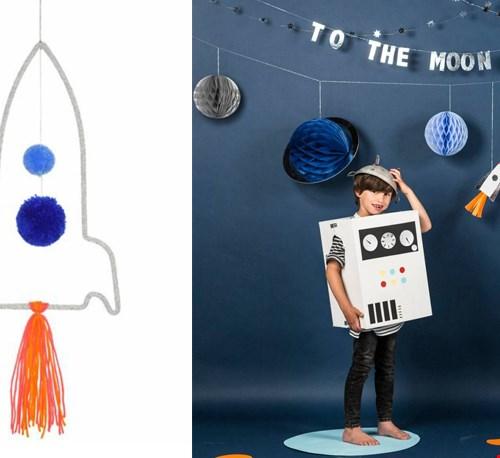 Voor stoere astronauten