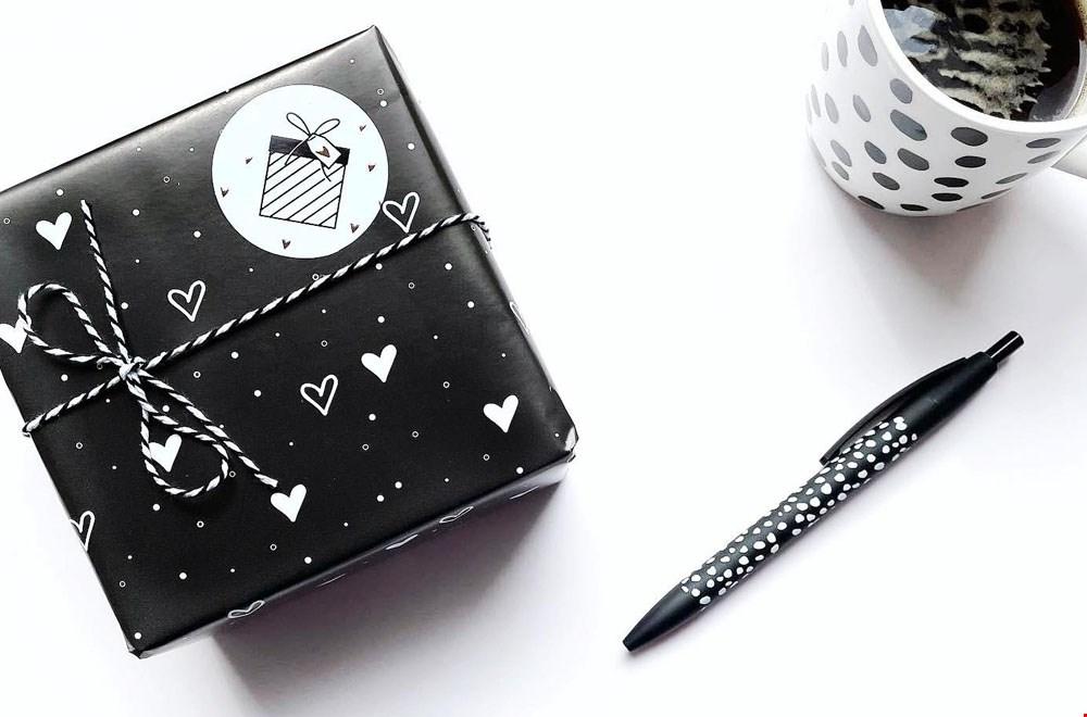 Liefs van Cindy Verpakking Pen Mok Flavourites