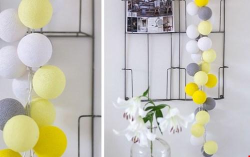 gave combinatie: geel, wit, grijs