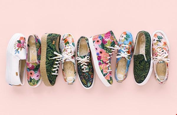pareltjes van sneakers