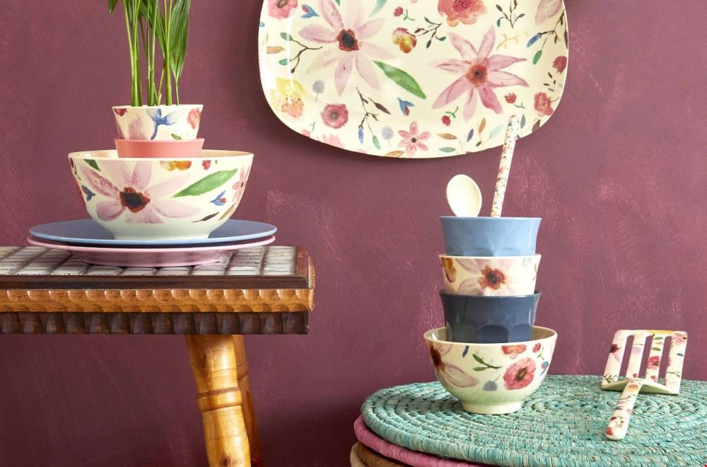 madamelapoule servies met bloemen Flavourites