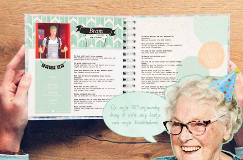 Ook leuk voor oma :-)