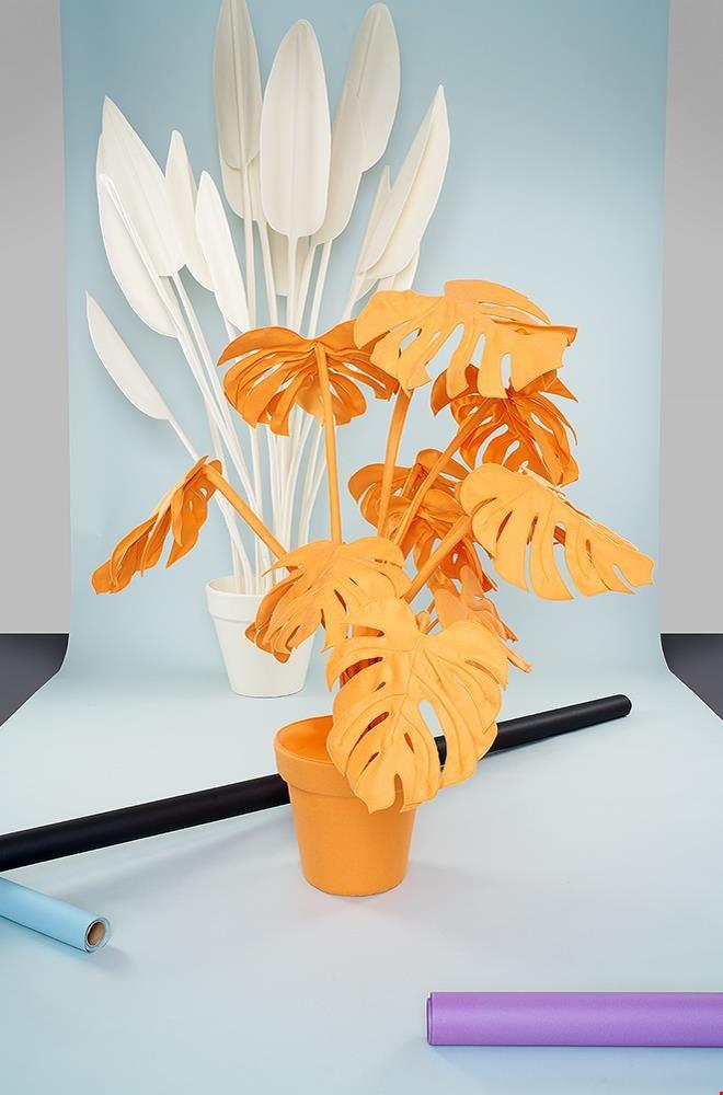 Vilte planten van Wandschappen