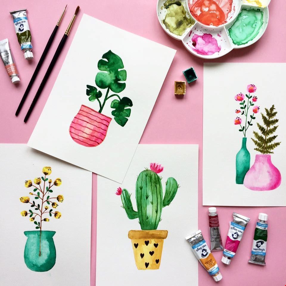 Hoe leuk zijn deze illustraties!