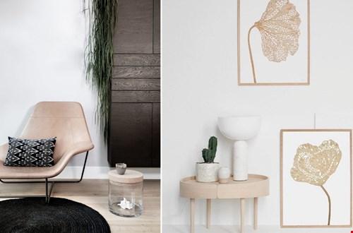 Living-stories wit en goud kader muurdecoratie Flavourites