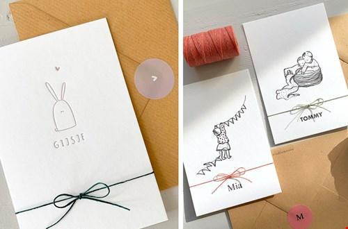 Studio Moose Geboortekaartjes en Trouwkaarten Flavourites
