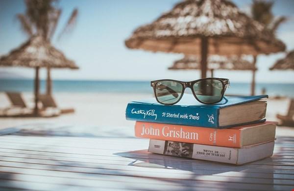 Boeken lezen op vakantie