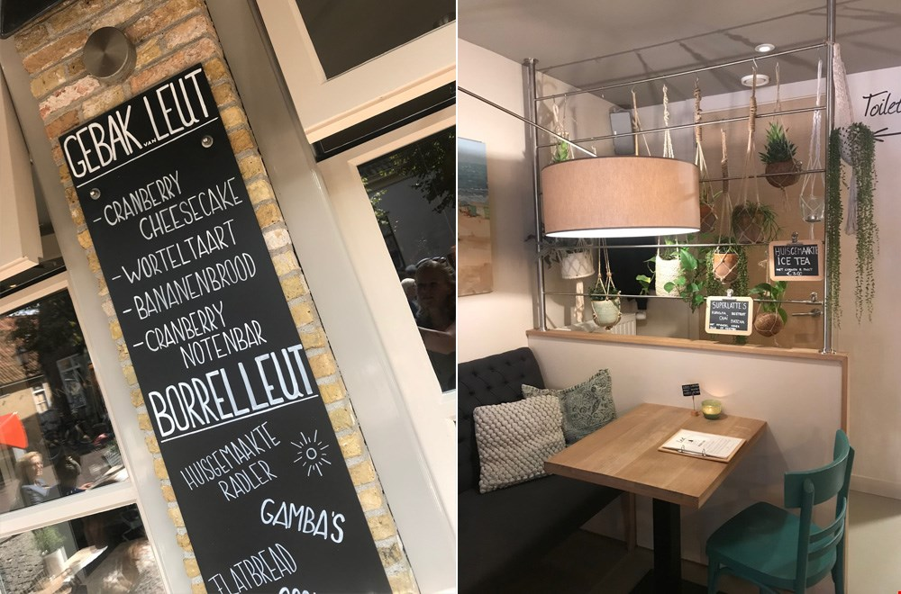 Lekker koffietjes drinken en taart eten bij Leut in Oost-Vlieland