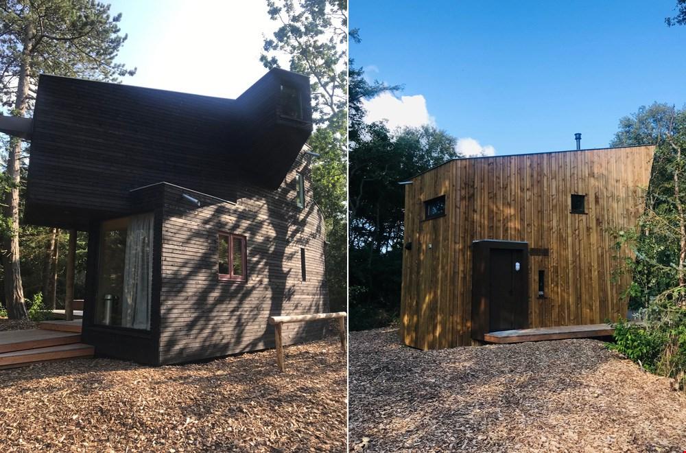 De duurzame boshuisjes van Stortemelk