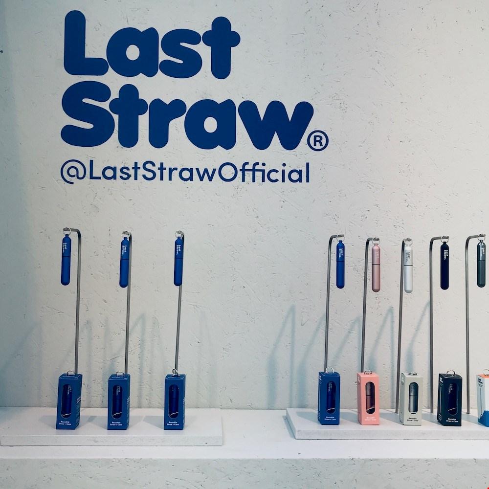 Herbruikbare rietjes van Last Straw