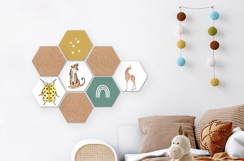 Modulari Wanddecoratie Kinderkamer Flavourites