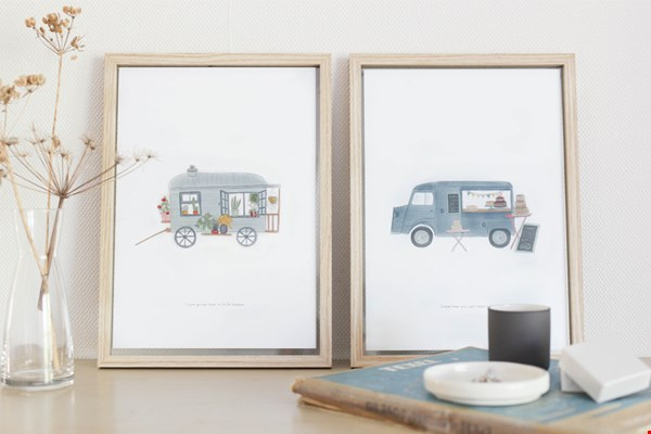 Mooie illustraties van Stationery Store