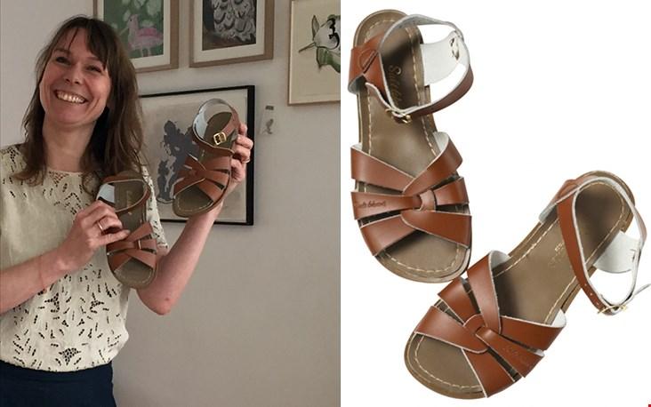 De Salt-Water Sandals die ik niet kon weerstaan na het verhaal van Eefje, blij mee!