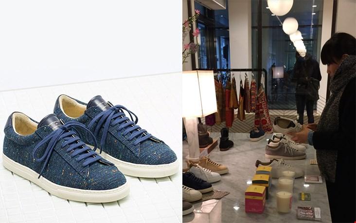 De luxe sneakers van Zespa Aix-en-Provence