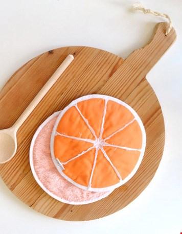 Sinaasappel pannenlappen