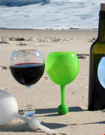 Voor op het strand...