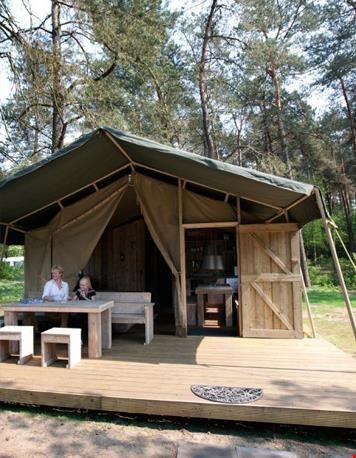 Da's lekker luxe kamperen