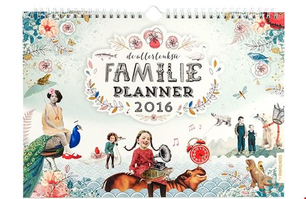 Mooi: de Familieplanner voor een goed doel