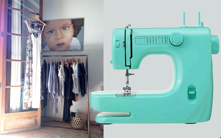 Mijn nieuwe kledingatelier