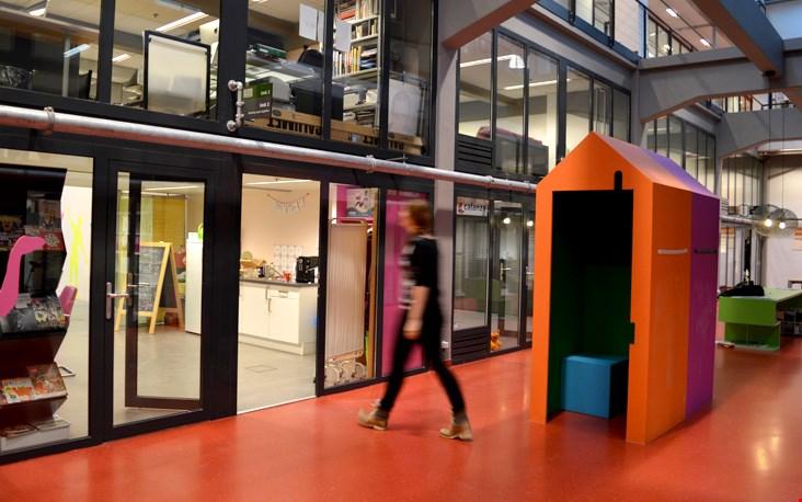 Leuk; zo'n inspirerende werkruimte!