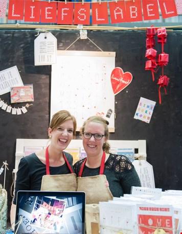 Bren (links) en Ann op Flavourites Live (foto: lisenkalami.nl)