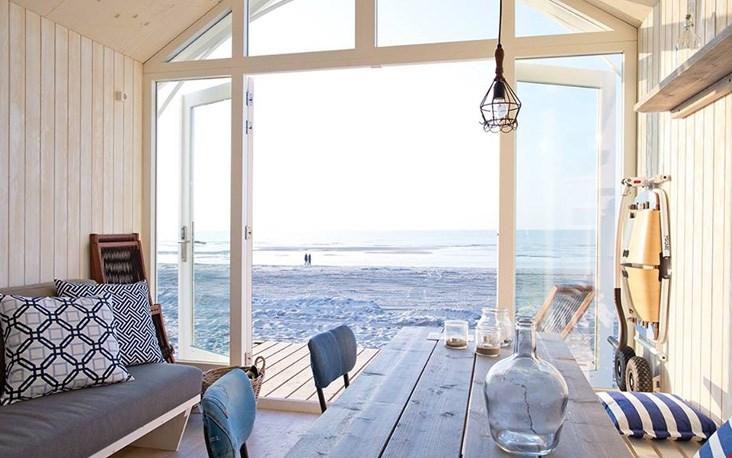 De leuk ingerichte strandhuisjes in Kijkduin