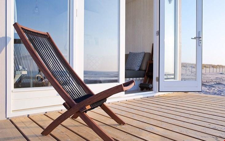 Relaxen op de veranda