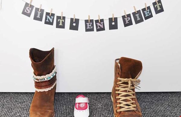 Leuk voor bij de schoen