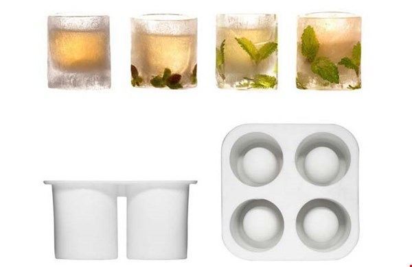 Ice Shot Glass: gaaf!