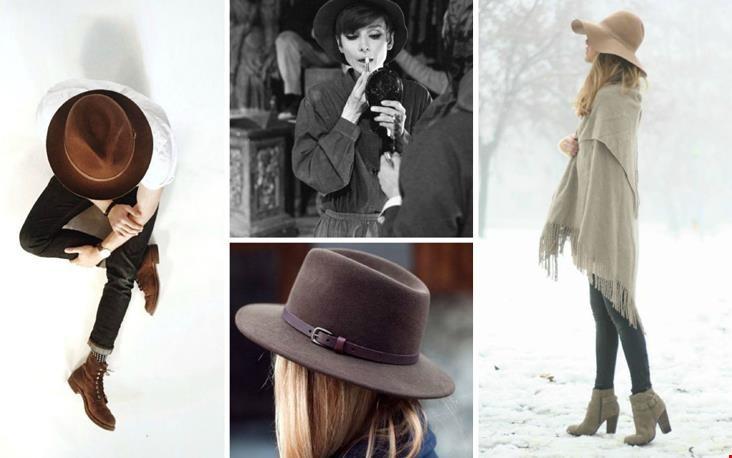 Veel hoeden-inspiratie in het lookbook
