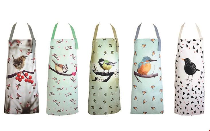 Ook leuk: de vogels zie je ook terug op deze mooie en handige schorten!
