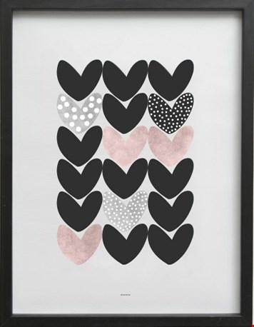 Poster 'Happy heart' van Stijlvanhethuis.nl