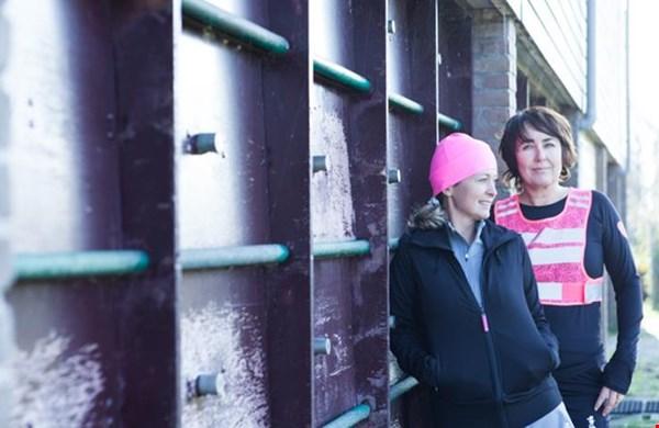 Else (links) en Jenne in een altijd fashionable outfit!