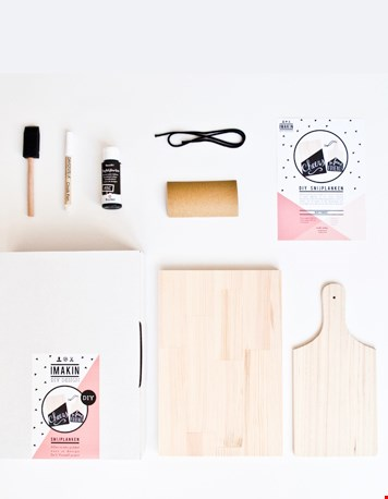 DIY pakket plank