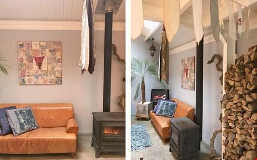 Dream office: het atelier van Ibiza Flags