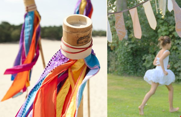 Van vlaggen op bamboestokken tot frivole vlaggenlijnen