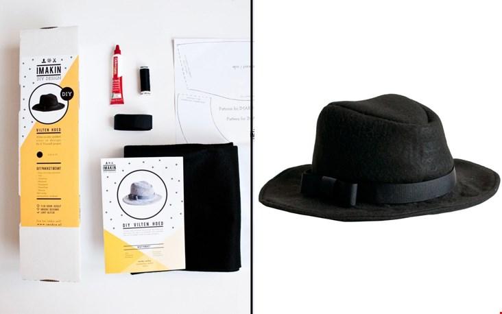 Maak een vilten hoed