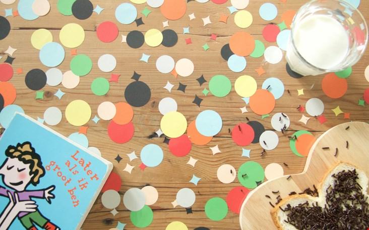 Leuk: de confetti