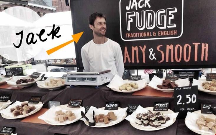 Dit is Jack. Jack maakt verslavende fudge.