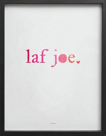 Poster 'Laf You' van Stijlvanhethuis.nl