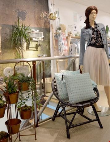 Mooie styling in de winkel