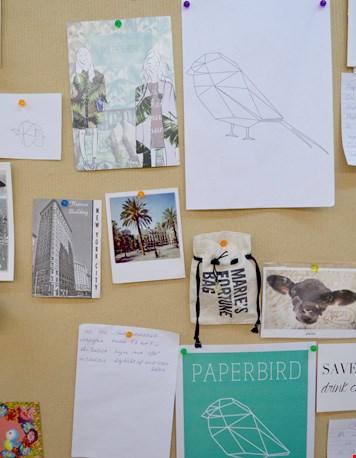 Het moodboard van Paperbird