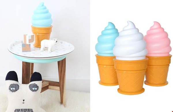 Ice cream lamp