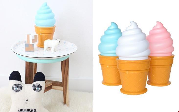 Ice cream lamp