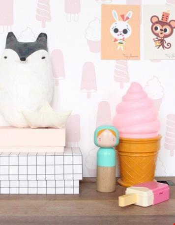 Roze ijsjeslamp van Psikhouvanjou.nl