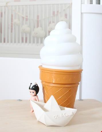 net echt: de witte ijsjeslamp